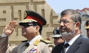 Sisi and Morsi