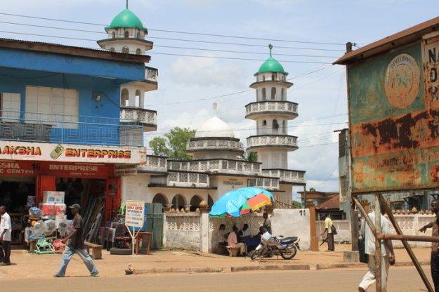 Sierra Leone mosque