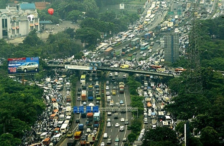 Brief thoughts on Jakarta's traffic